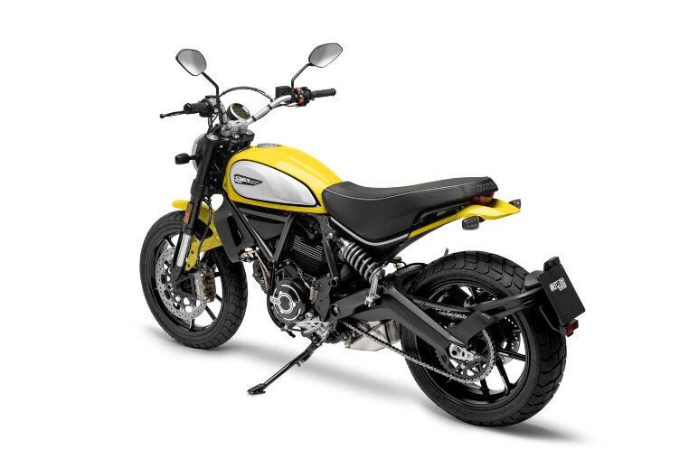 Scrambler Icon - `62 Gelb
