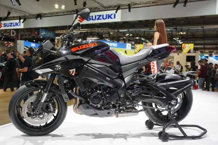 Die Suzuki Katana an der EICMA 2018