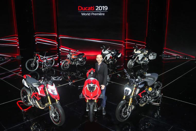 Ducati Line-up für 2019 - Claudio Domenicali, CEO der Ducati Motor Holding