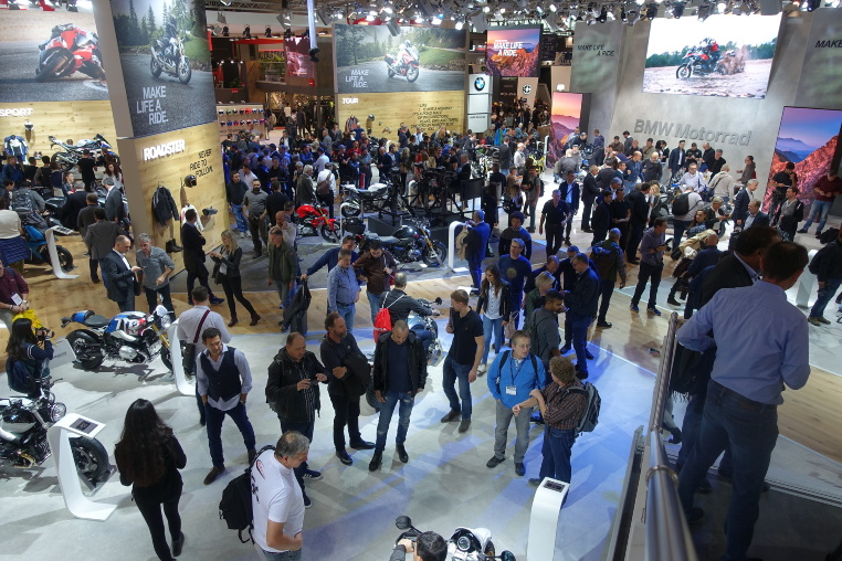 EICMA 2018 - BMW Messestand