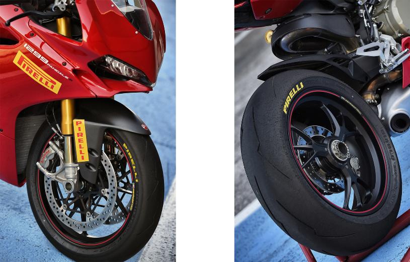 Steht ab Werk auf Reifen in den Größen 120/70 ZR17 vorne und 200/55 ZR17 hinten.