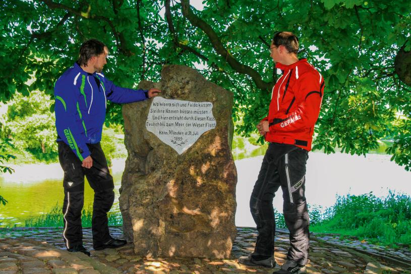 Wo Fulda und Werra sich küssen...