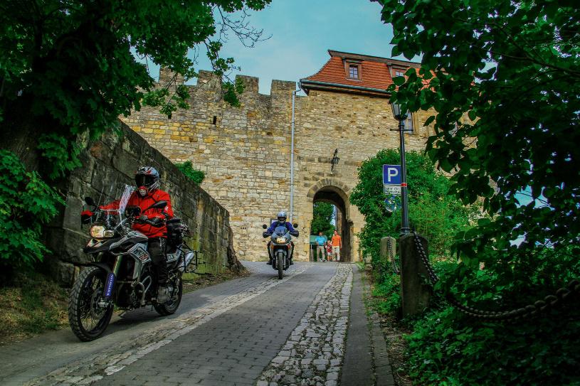 Mittelalterliches Spektakulum auf der Creuzburg.