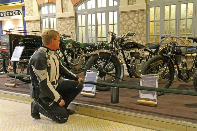 Peugeot Motorräder aus den 30er Jahren - Der Zwischenstopp hat sich gelohnt!