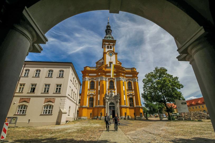 Die Barockkirche in Neuzelle.