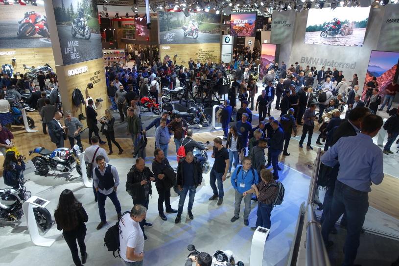 EICMA 2018 - BMW Messestand