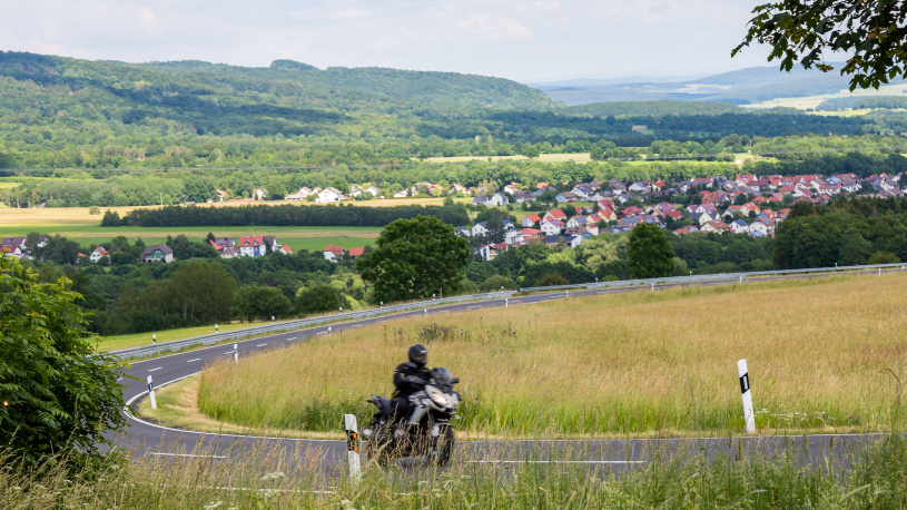 Motorradtour: Rhön kompakt