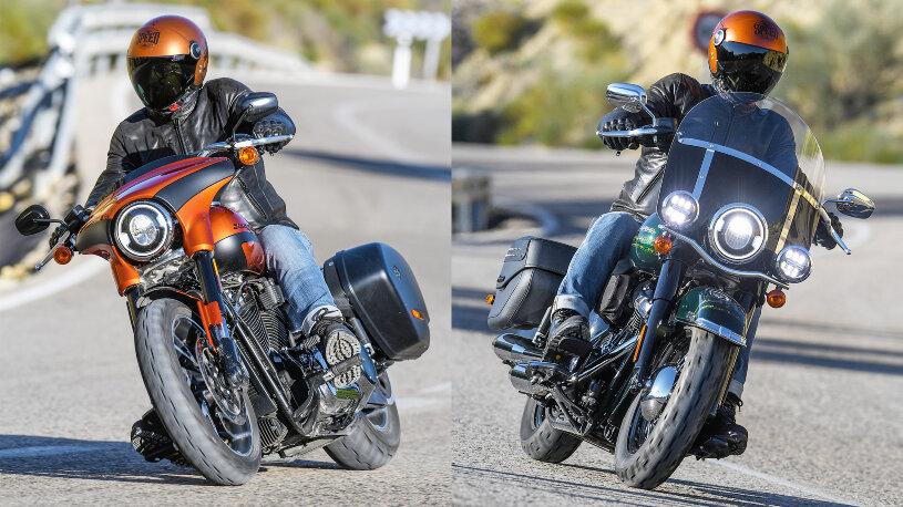 Harley-Davidson Sport Glide & Heritage Classic 114