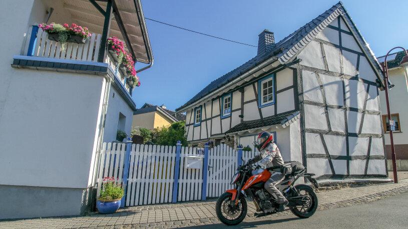 Motorradtour: Eifel