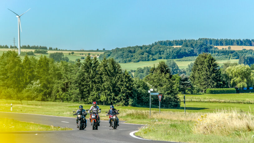 Motorradtour Eifel