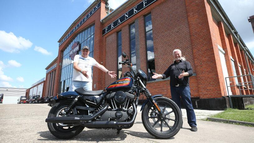 Preisausschreiben DMAX Harley-Davidson Iron 1200 Gewinnspiel Gewinner Jochen G.