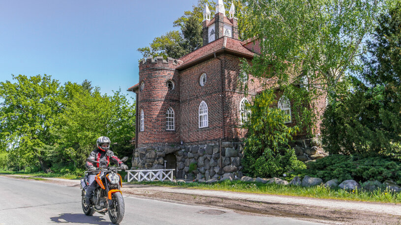 Motorradtour Wörlitzer Park, UNESCO Weltkulturerbe