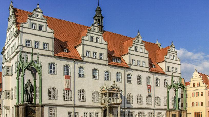 Motorradreise Deutschland, Wittenberg, Lutherstadt