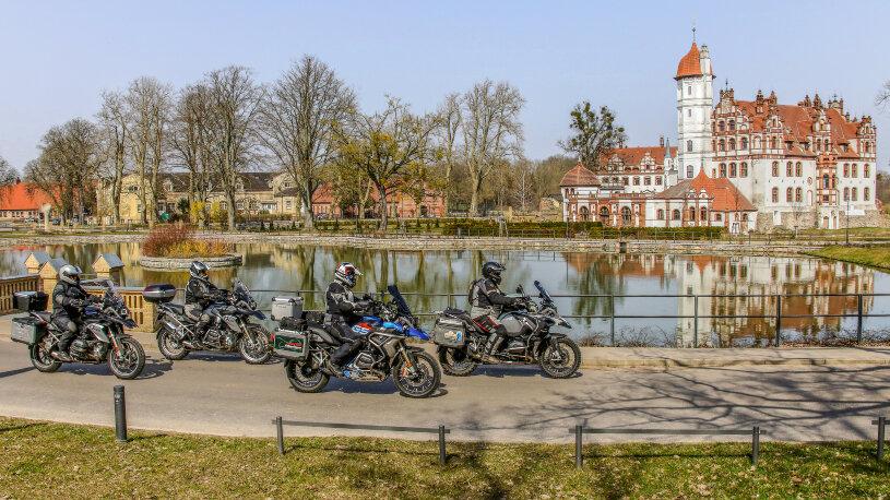 Motorradreise Deutschland, Malchiner See