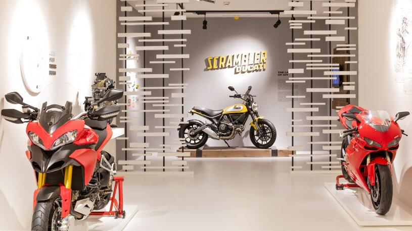 Wiedereröffnung des Ducati-Museums