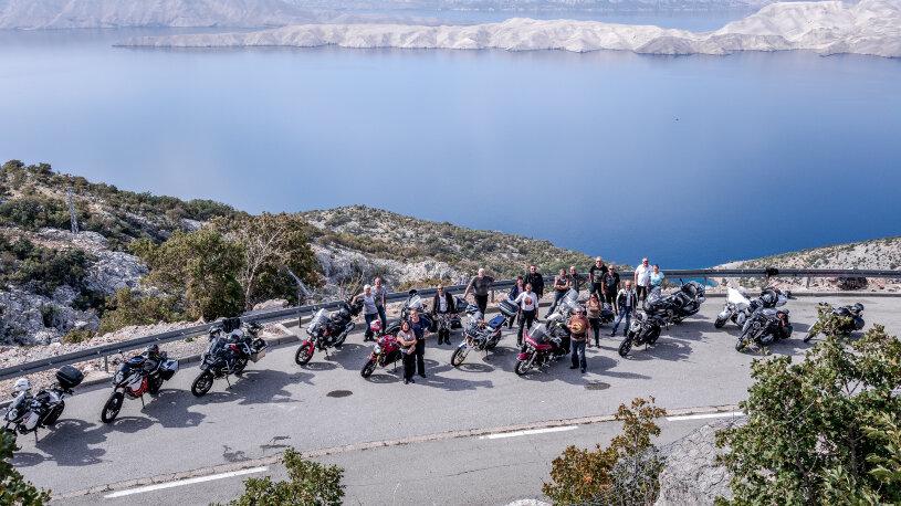 Motorradkreuzfahrt an der Adriaküste: Croatia Bike Cruise