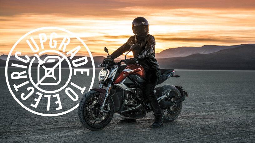 Zero Motorcycles legt 'Upgrade to Electric' Programm auf