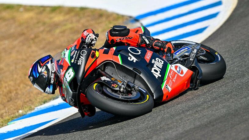 Aprilia Racing Jerez MotoGP