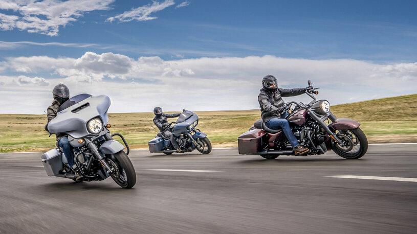 Touring-Familie von Harley-Davidson