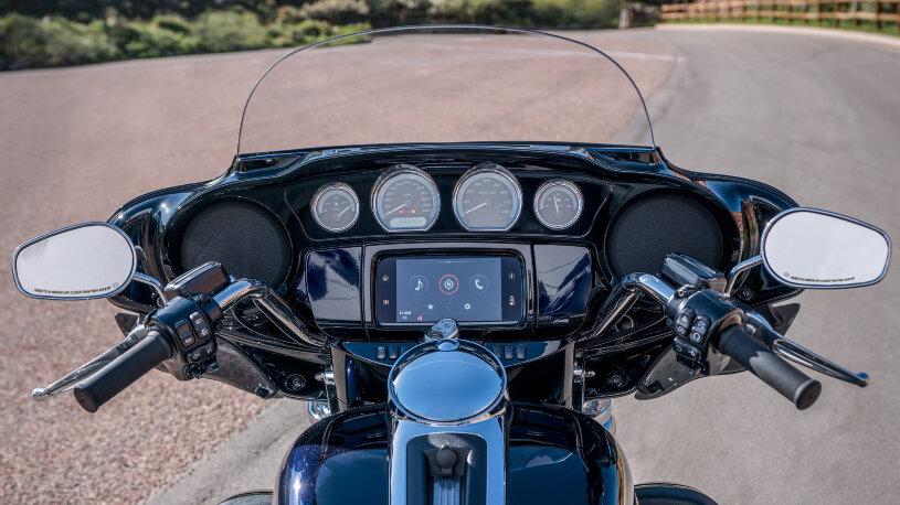Gorilla Glass für Harley-Davidson Street Glide, Road Glide und Ultra Limited