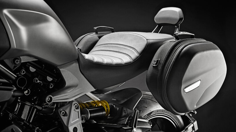Ducati Performance Touring-Zubehör Rückenlehne für den Beifahrer