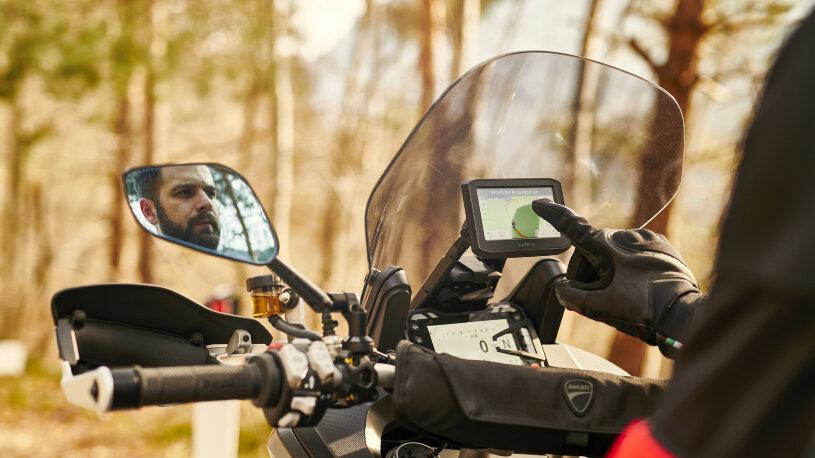 Ducati Performance Touring-Zubehör Zumo 396 Satelliten-Navigationsgerät
