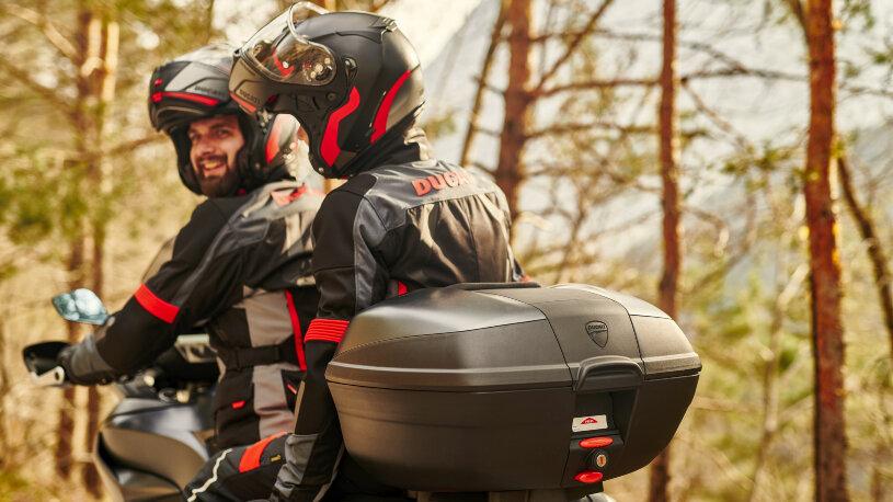 Ducati Performance Touring-Zubehör Topcase aus Kunststoff