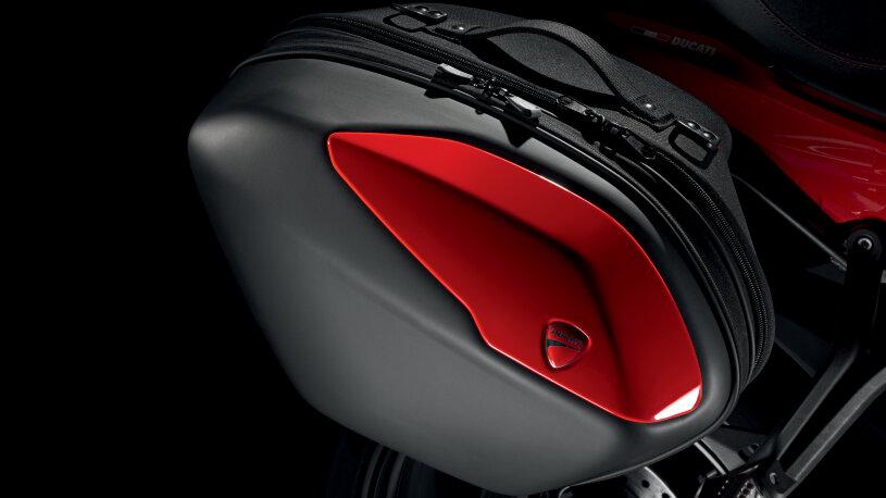 Ducati Performance Touring-Zubehör Seitenkoffer