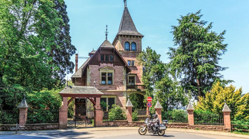 Motorradtour Start in Heidelberg