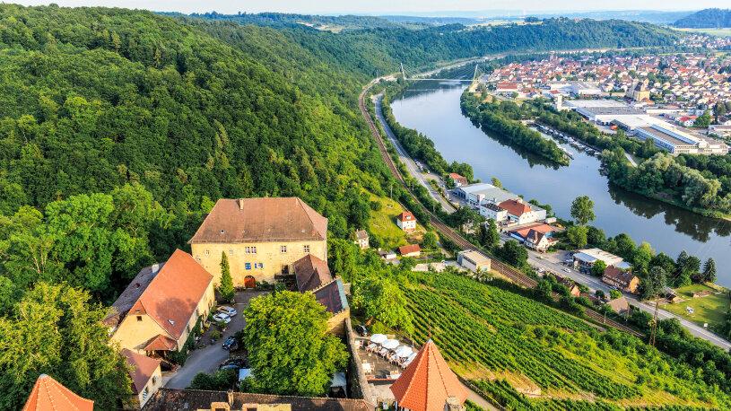 Motorradtour Burg Guttenberg