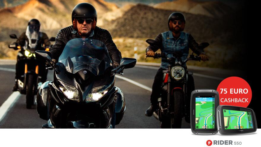 TomTom Promo Aktion Rider 550