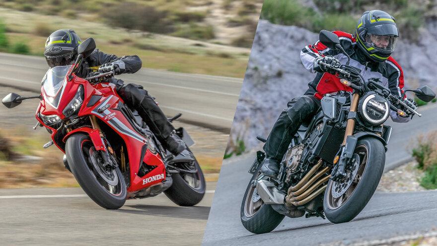 Vergleichstest: Honda CBR650R & CB650R