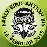 Kawasaki Early-Bird-Aktion