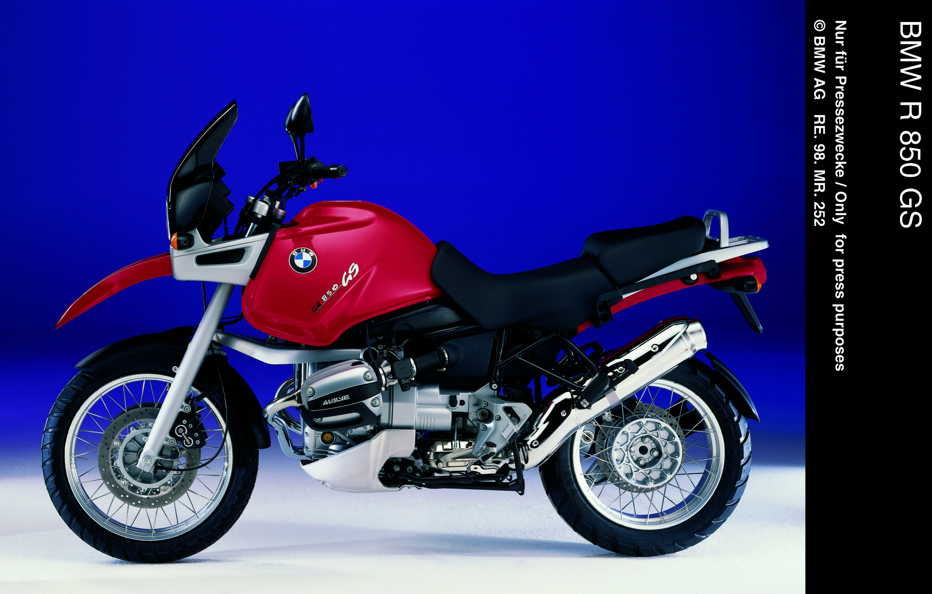 bmw r 850 gs baujahr 1998 datenblatt technische details. Black Bedroom Furniture Sets. Home Design Ideas