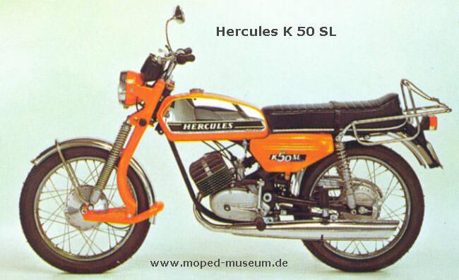 hercules k50 sl baujahr 1976 datenblatt technische details. Black Bedroom Furniture Sets. Home Design Ideas