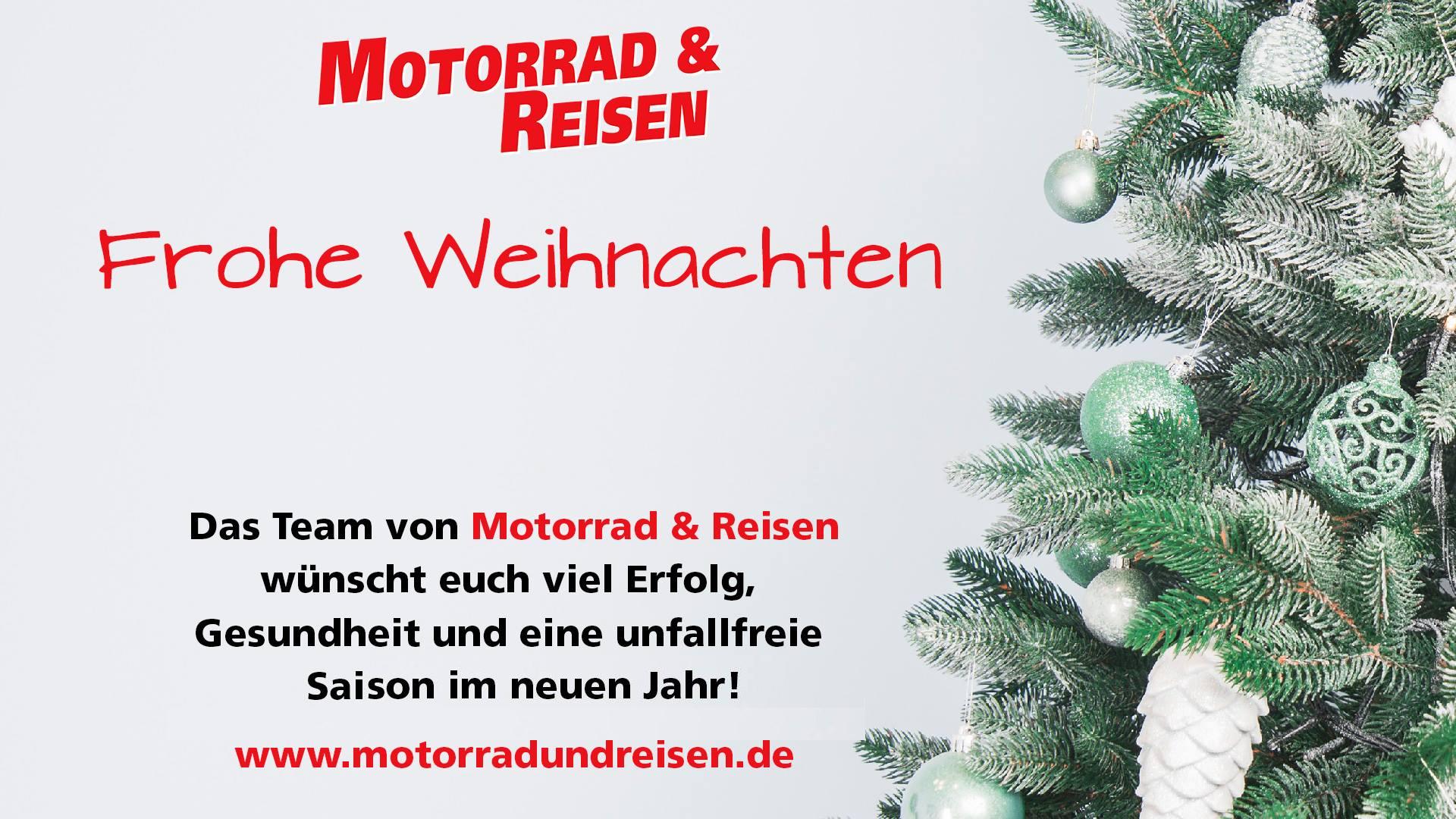 Frohe Weihnachten Motorrad.Motorrad Reisen Wunscht Frohe Weihnachten Motor