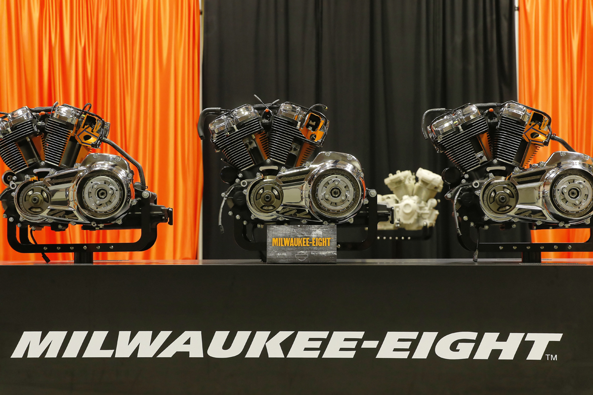 Der neue Harley-Davidson Milwaukee Eight