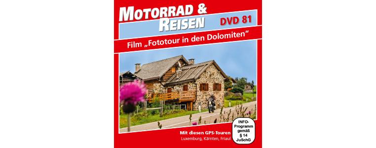 DVD 'Fototour in den Dolomiten'