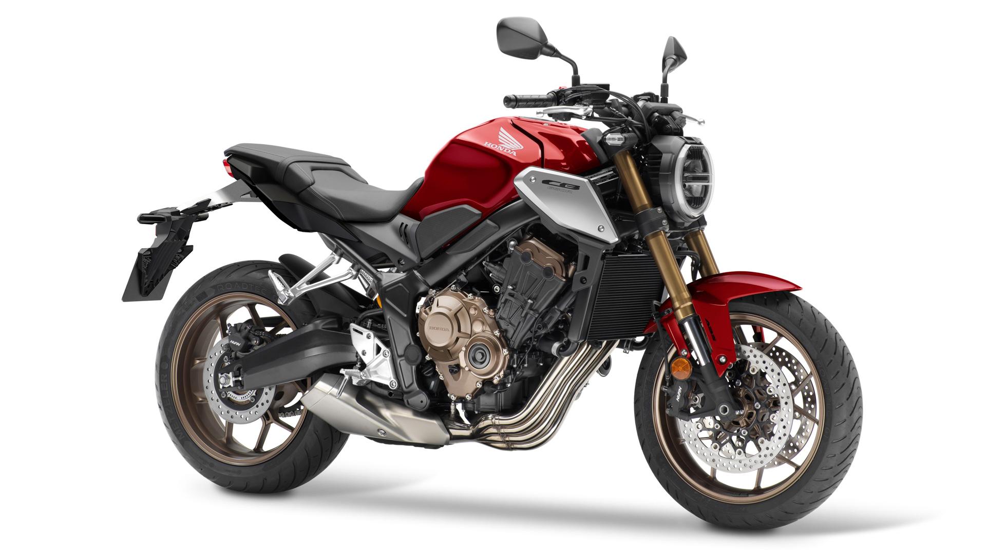 Aufgewertet: Honda CB650R geht mit Big Piston Gabel und