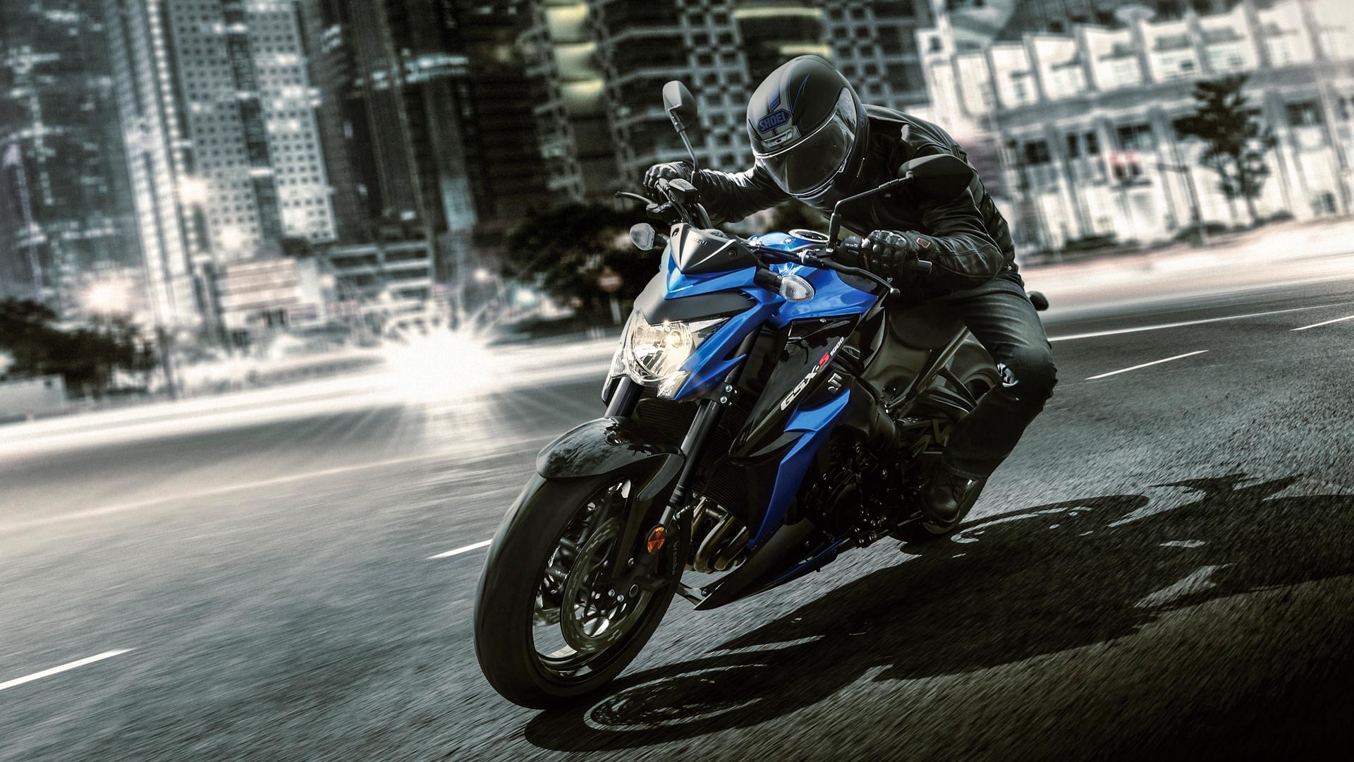 Suzuki Motorrad: Die GSX-S1000 ist in den schnellen Kurven