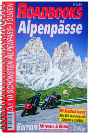Roadbooks Alpenpässe