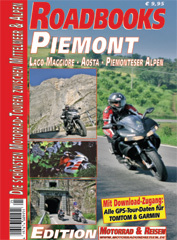 Roadbooks Piemont