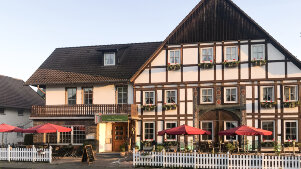 Neu bei M&R-Motorradhotels: Hotel Höxter Am Jakobsweg (Weserbergland)