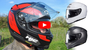 Motorradhelm getestet: HJC RPHA 70
