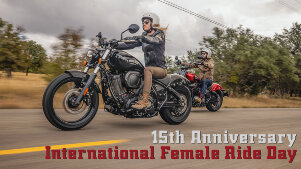 1. Mai 2021 – International Female Ride Day feiert 15-jähriges Jubiläum