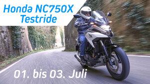 Honda NC750X Testride