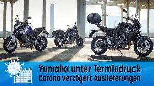 Auslieferung von Yamaha-Motorrädern kann sich verzögern