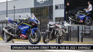 Dynavolt Triumph Street Triple 765 RS 2021: Herausforderer in der British Supersport Meisterschaft