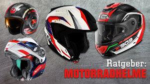 Motorradhelm-Ratgeber - so findest Du den perfekten Helm!