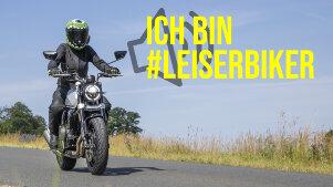 #leiserbiker: NRW startet Aktion gegen Motorradlärm